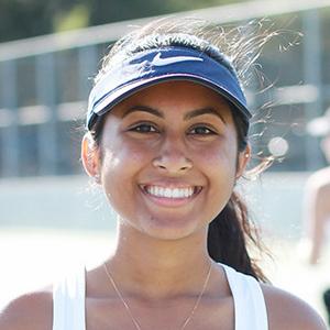 Anika Mohanty 2018 Girls Varsity Tennis