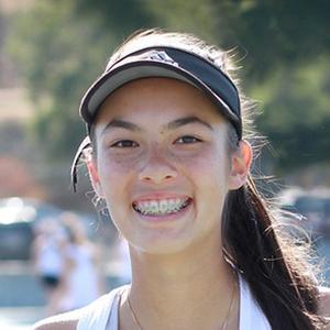 Jasmine Toni 2018 Girls Varisty Tennis