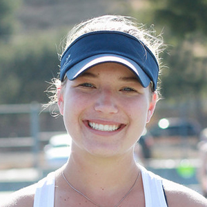 Zoe Cate 2018 Girls Varsity Tennis