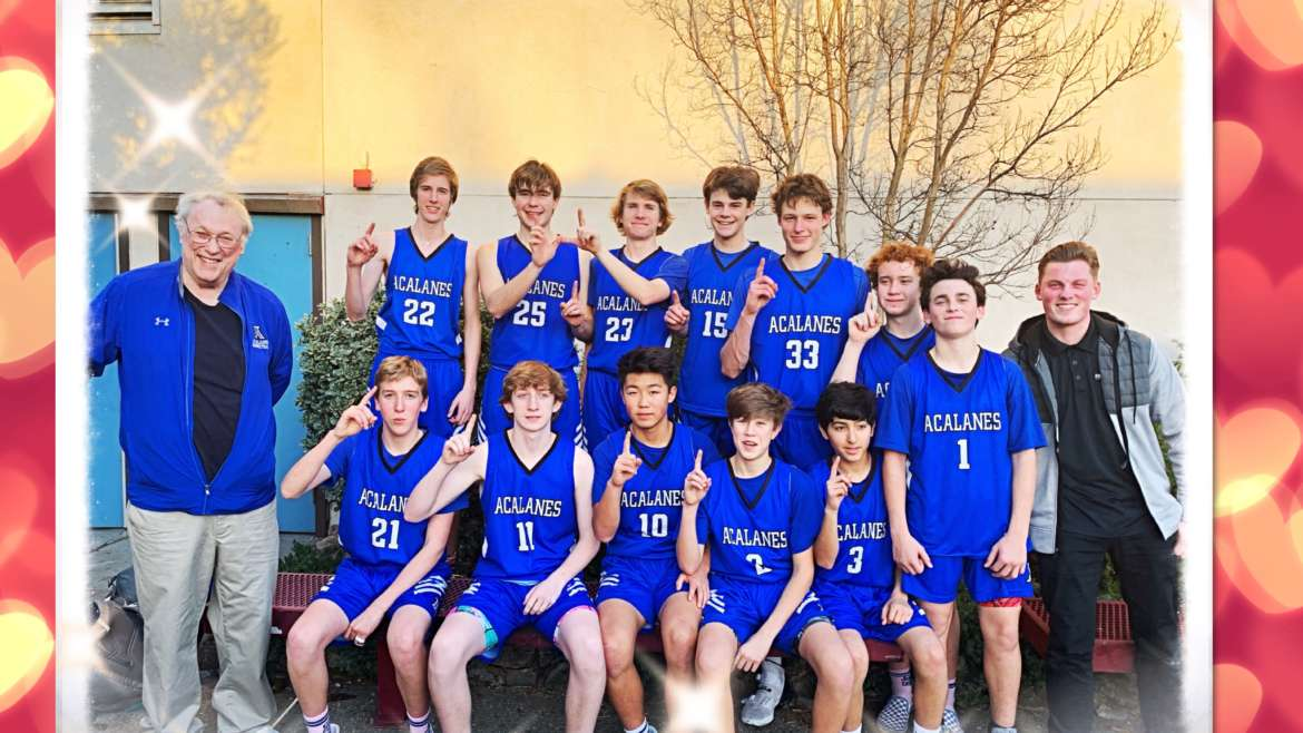 FRESHMAN TEAM-DAL LEAGUE CHAMPIONS 2020: Leave Your Heart on the Court!