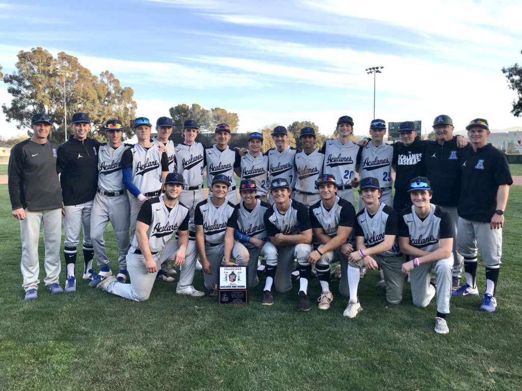 Varsity Baseball Co-Champs of Pittsburg Invitational