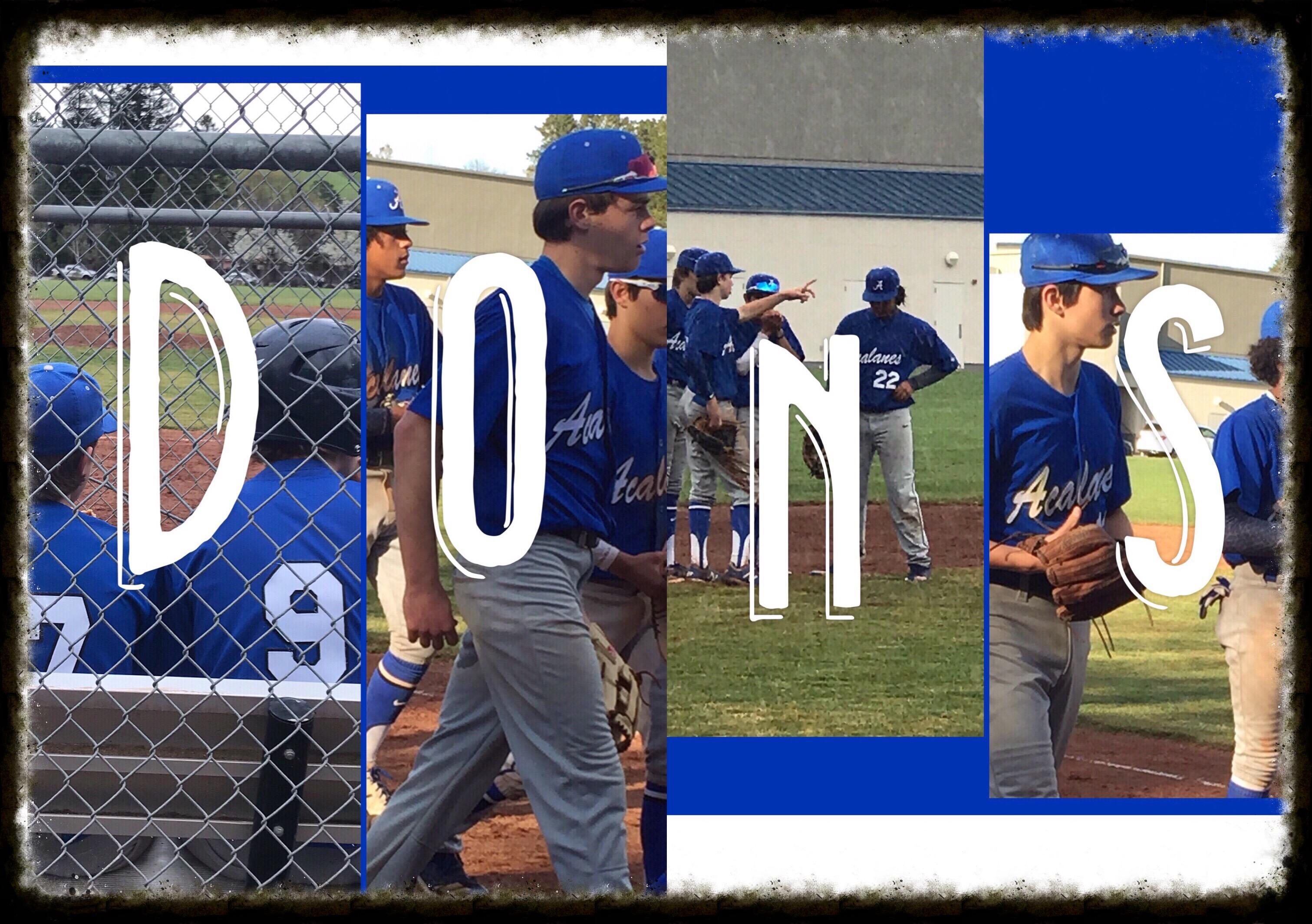 BLUE-tiful  Baseball Day for Frosh Dons in Moraga