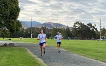 Cross Country Camp Update:  Dons on the Run