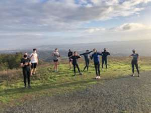 DONS GO THE DISTANCE: Cross Country, One Step at a Time