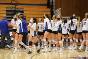 Dons Girls Volleyball Swept by Campolindo