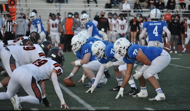 Varsity Football: Fear the BLUE and LOVE the BLUE