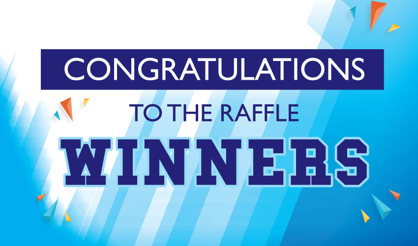 Sports Boosters Raffle Winners Announced