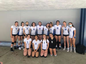 Frosh Girls Volleyball Beat Campo