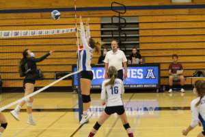 JV Girls Volleyball Beats Miramonte in Second Game of the Season