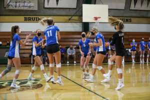 Girls Varsity Volleyball Bests the Bruins