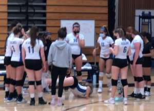 FROSH GIRLS VOLLEYBALL ELECTRIFY IN SPLIT WITH CLAYTON VALLEY UGLY EAGLES
