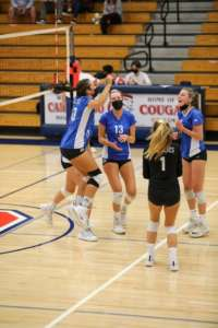Girls Varsity Volleyball Drops Match to Campo in Moraga