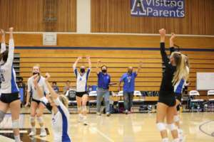 Dons Varsity Girls Volleyball Flies Past the Ugly Eagles