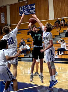 JV Basketball: The Dons Light up the Scoreboard Against Miramonte in Last Home Game of the Year