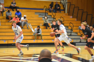JV Basketball: The Dons Take on Campo at Home