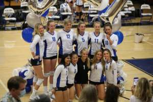 Dons Varsity Girls Volleyball:  What a Knight