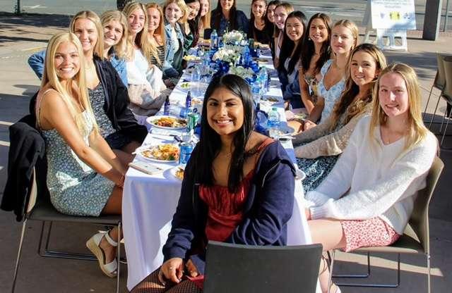 Girls Varsity Volleyball Bucked by Broncos