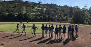 JV BASEBALL: WOODSON'S HR MAKES IT A BLUE-TIFUL DAY IN MORAGA, DONS 4-COUGARS 2