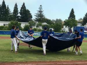 JV Baseball:  It was Raining 'Panthers' and Dogs