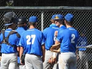 Varsity Baseball Takes Down Ugly Eagles 15-12 Monday Evening in Clayton