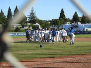 Won for the Ages - The Dons Win A Senior Night Home Game vs Clayton Valley Charter on Berrien's 7th Inning Walk Off Single