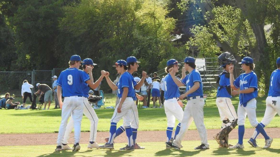 Make it 5 in row!  Varsity Baseball Cruised Past St Patrick – St Vincent 8-1 on Saturday