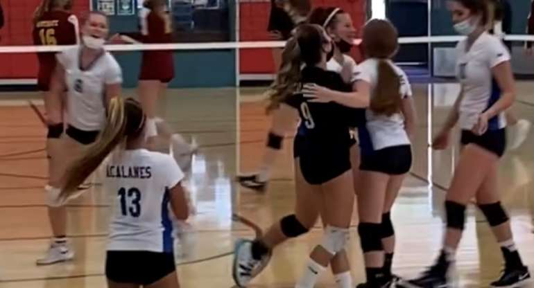SWAG!  Acalanes Freshman Lady Dons Defeat Northgate in Epic 3-Set Match