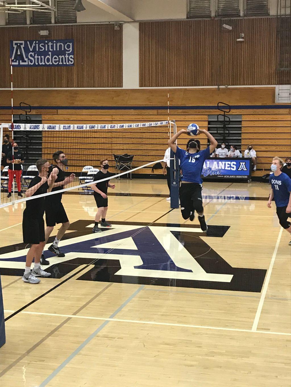 Varsity Boys Volleyball Takes Clayton Valley 3-0