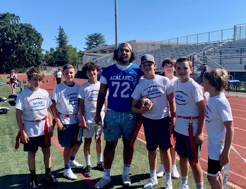 Acalanes Youth Football Camp Scores Big Touchdowns and FUN