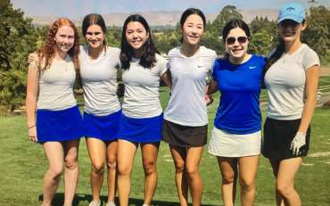 Girls Golf Team tees off with great success!