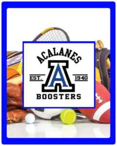 Acalanes Sports Booster Table: Shop For Your Don Swag