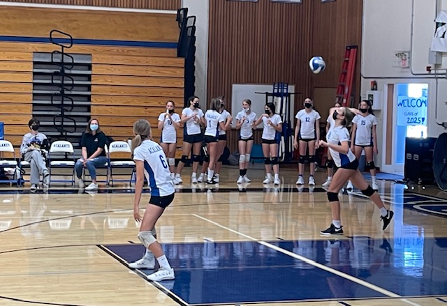 Frosh Volleyball: We Bring Our A Game to Win