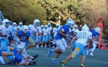 FROSH FOOTBALL: Early Lead ends in  a Dons Victory,  Acalanes 38-Hertiage 26