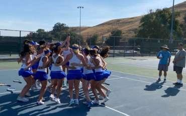 Girls Tennis Scores 2 league victories