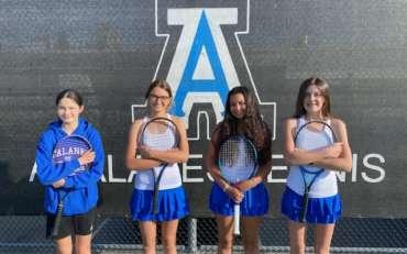 GIRLS TENNIS EXTENDS WIN STREAK TO 4