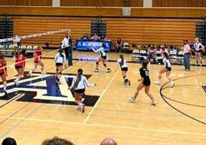JV Volleyball Takes Down Campo