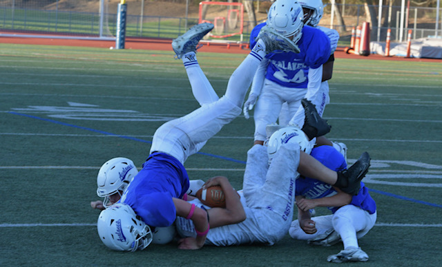 JV Football: There is No 'I' in Team, But Look for 'US' in AmbitioUS