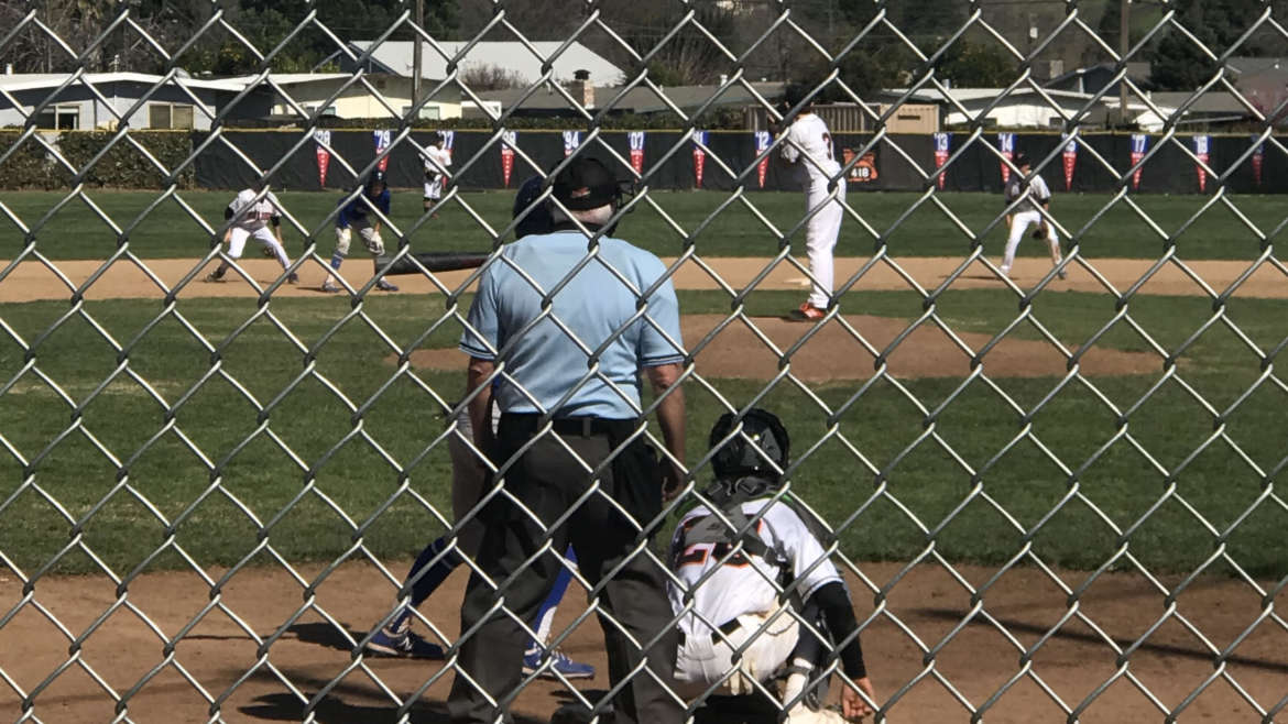 Frosh Baseball traveled to Vacaville and faced high powered offense.