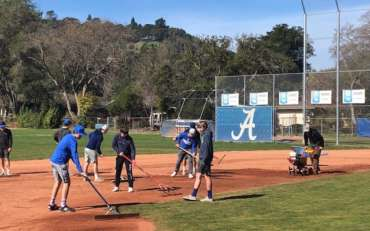 Dons Community Shows Up to Prep Field in Anticipation of Baseball Season Kickoff
