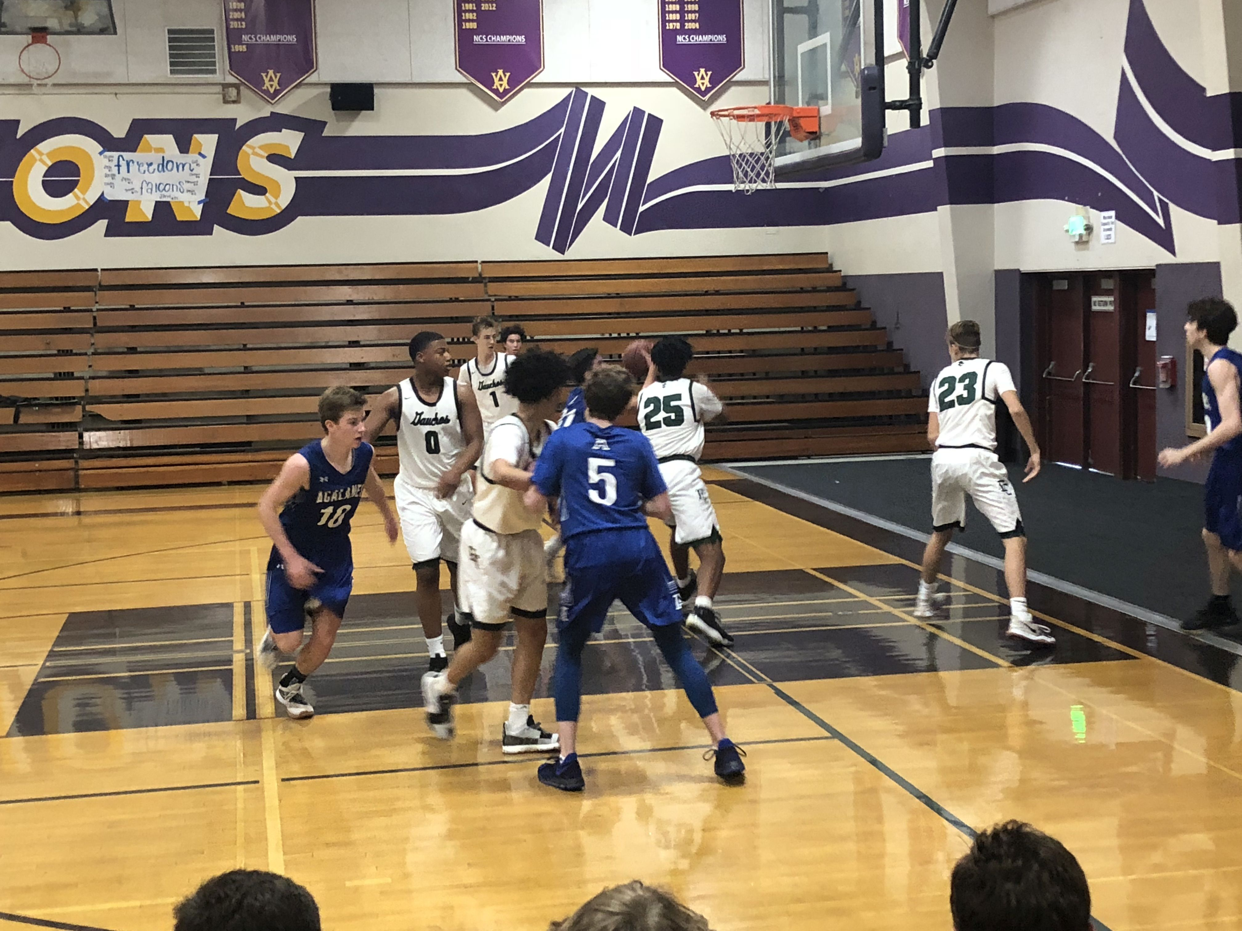 Varsity Boy's Basketball defeats EL Cerrito to win consolation at Amador Valley Tourney