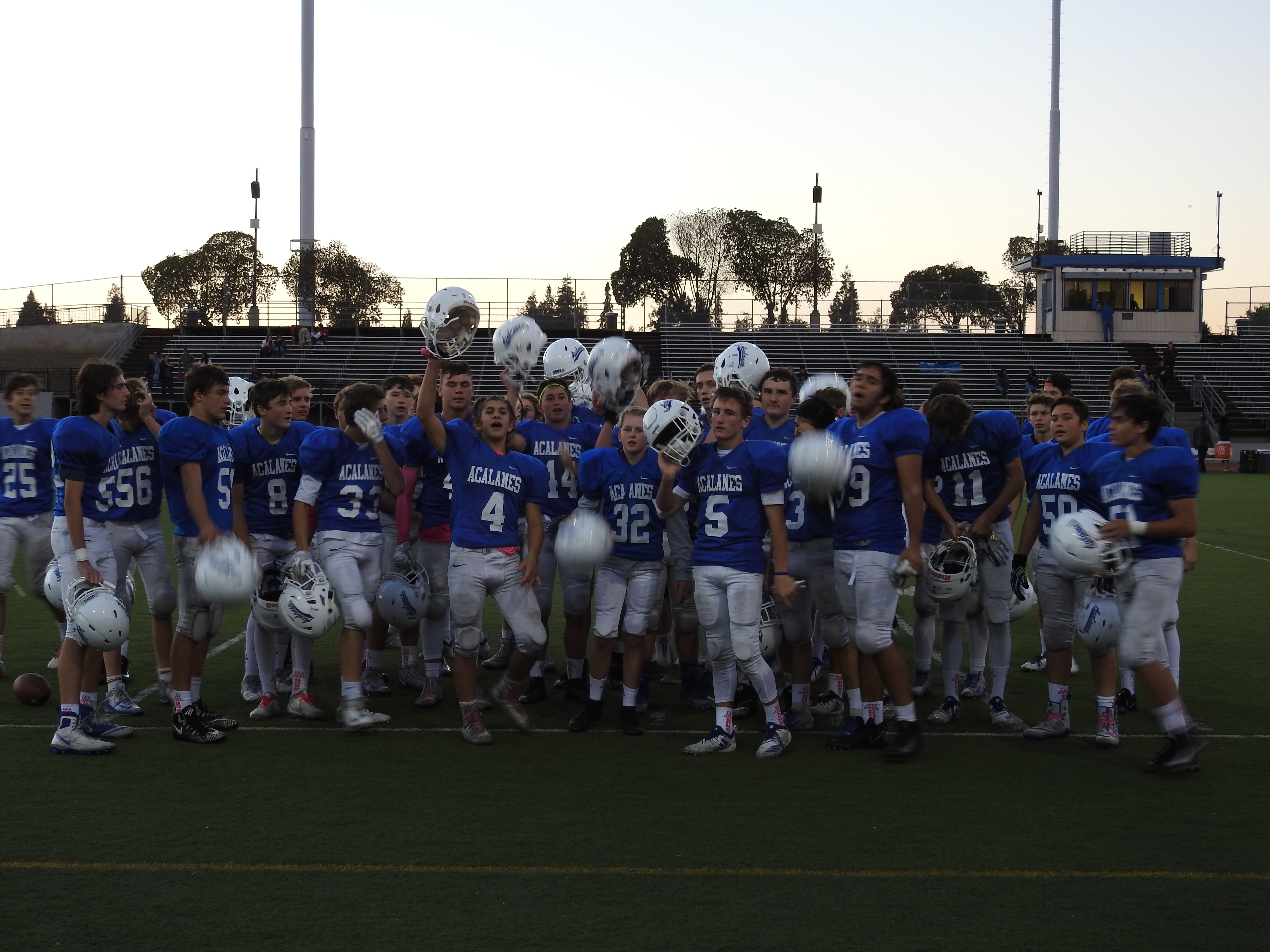 Frosh Dons Football Ends Season with a Win over Kennedy