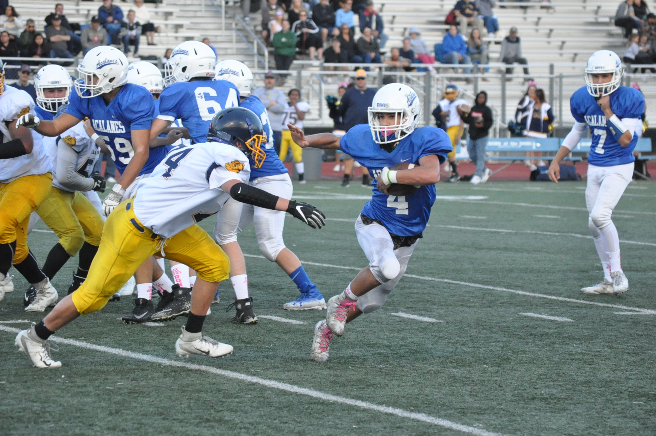Freshman Dons Football routs Alhambra