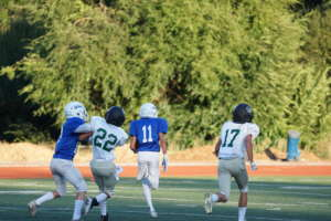 Frosh Dons Run Away from Casa Grande, 44 to 14 Victory