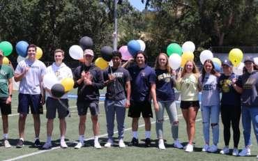 Acalanes Celebrates Recruited Athletes