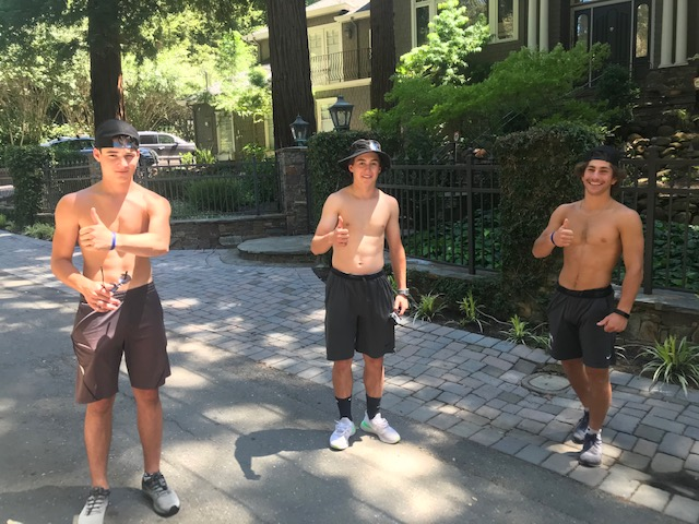 Three Dons Athletes Show Leadership off the Field – Go 24 Miles in 24 Hours for Acalanes Athletics