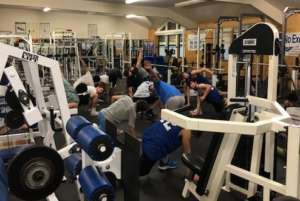 Strength & Conditioning coach available Mondays & Thursdays 3-7pm