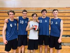 Volleyball Dons Beat Las Lomas
