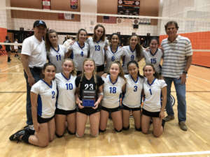 Acalanes Freshman Volleyball are Runner-Ups in the East County Invitational 2018 Tournament