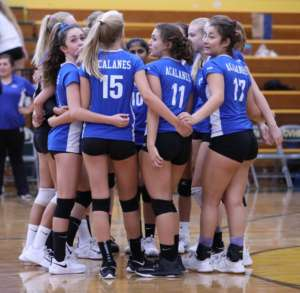Dons JV Volleyball Finishes Strong Season