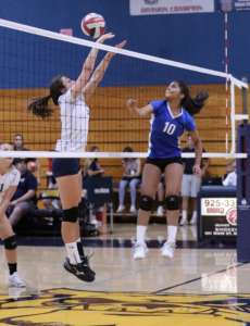 Dons JV Volleyball Stays Hot, Takes Care of Alhambra